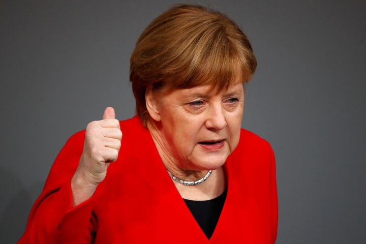 "German Chancellor Angela Merkel has said she thinks banning mega-landlords from operating in Berlin would be the ""wrong"