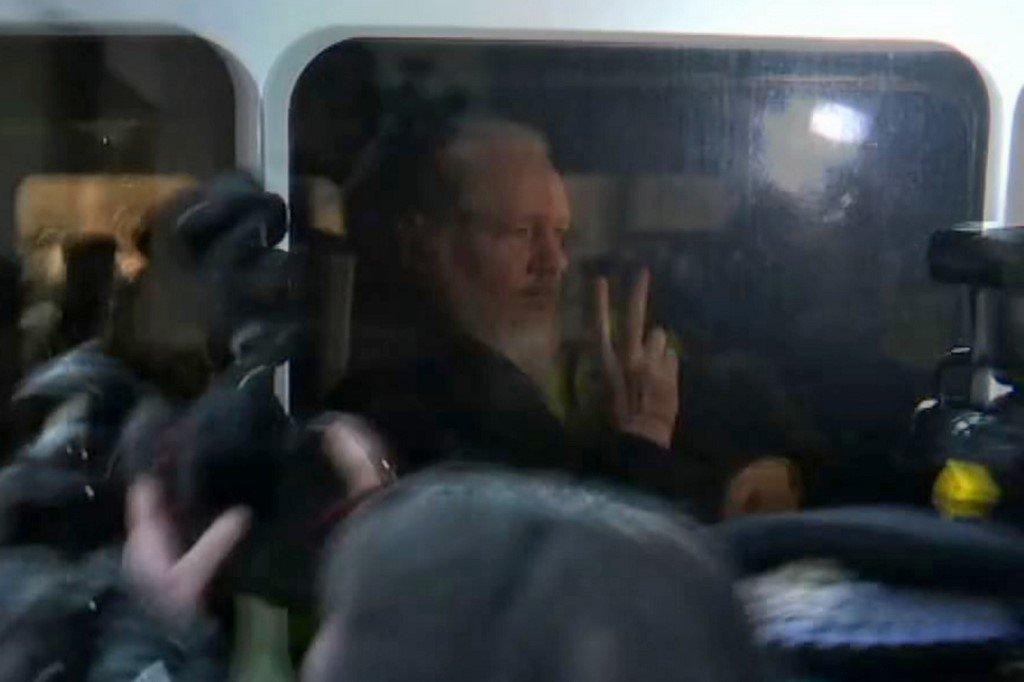 Julian Assange a été arrêté ce jeudi 11