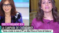 Ana Rosa Quintana descoloca a Arrimadas con un comentario sobre su vida