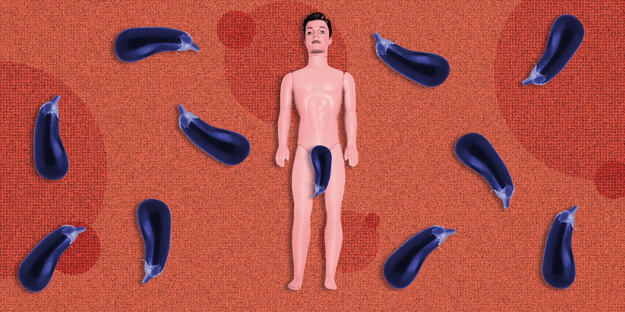 Os mitos sobre o tamanho e formato do pênis são