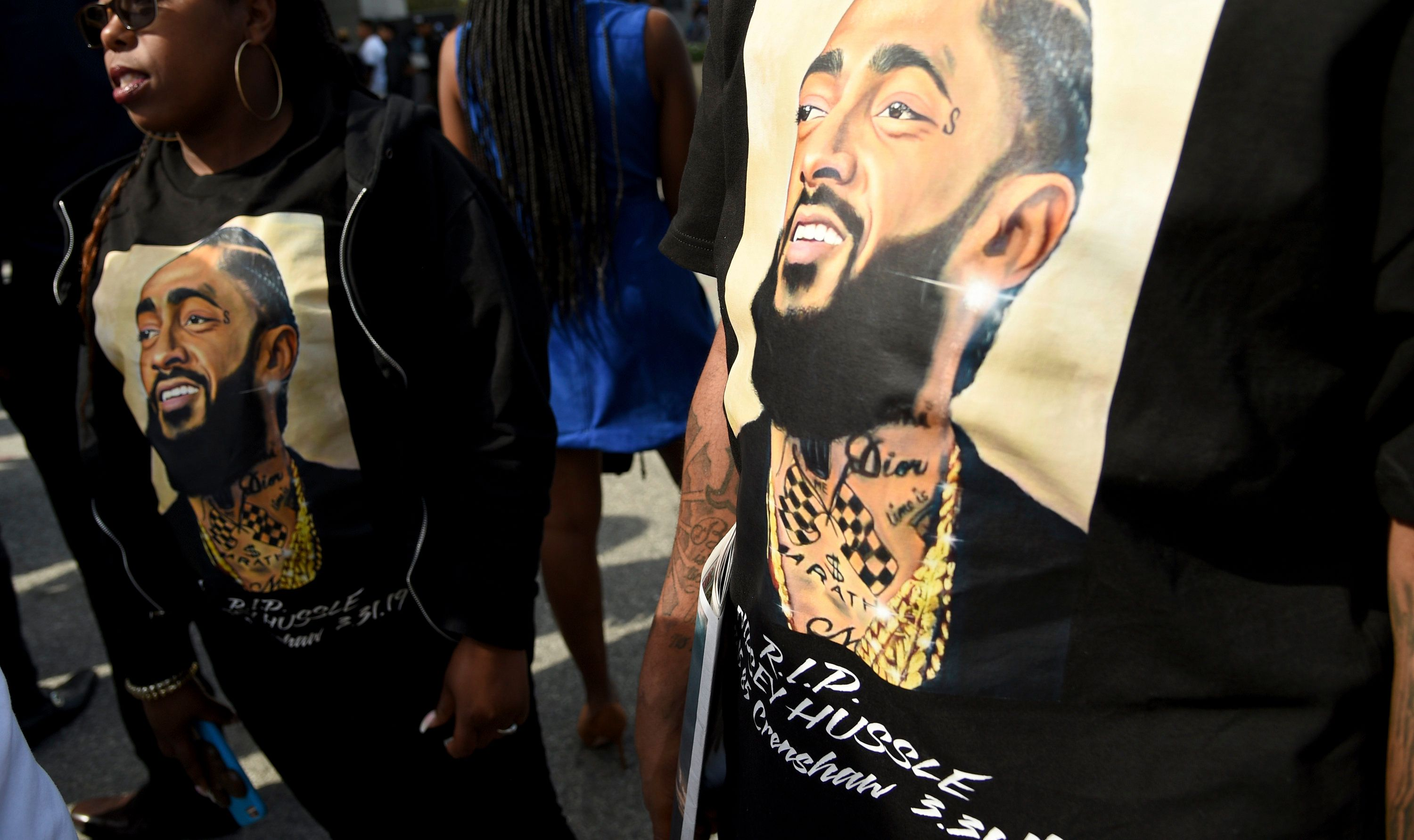 Celebrities Show Love To Nipsey Hussle Online During His Funeral