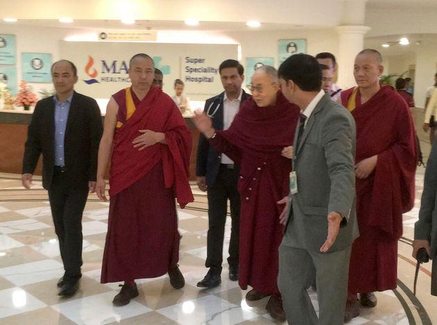 Le dalaï lama est sorti de