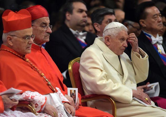 Pour l'ancien pape Benoît XVI, les scandales de pédophilie s'expliquent par mai 68 (Photo...