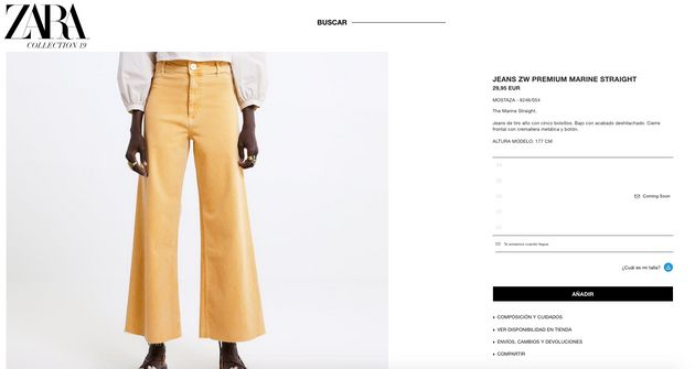 Sara Carbonero desata la locura con estos pantalones: sube una foto a Instagram y se