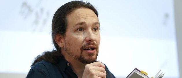 Pablo Iglesias, líder y candidato de