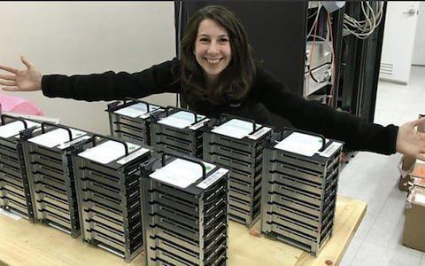 Elle a imaginé l'algorithme pour voir un trou noir, Katie Bouman