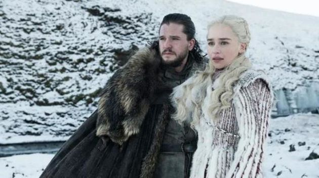 Kit's character, seen here with Daenerys Targaryen, is expected to be at the centre of series