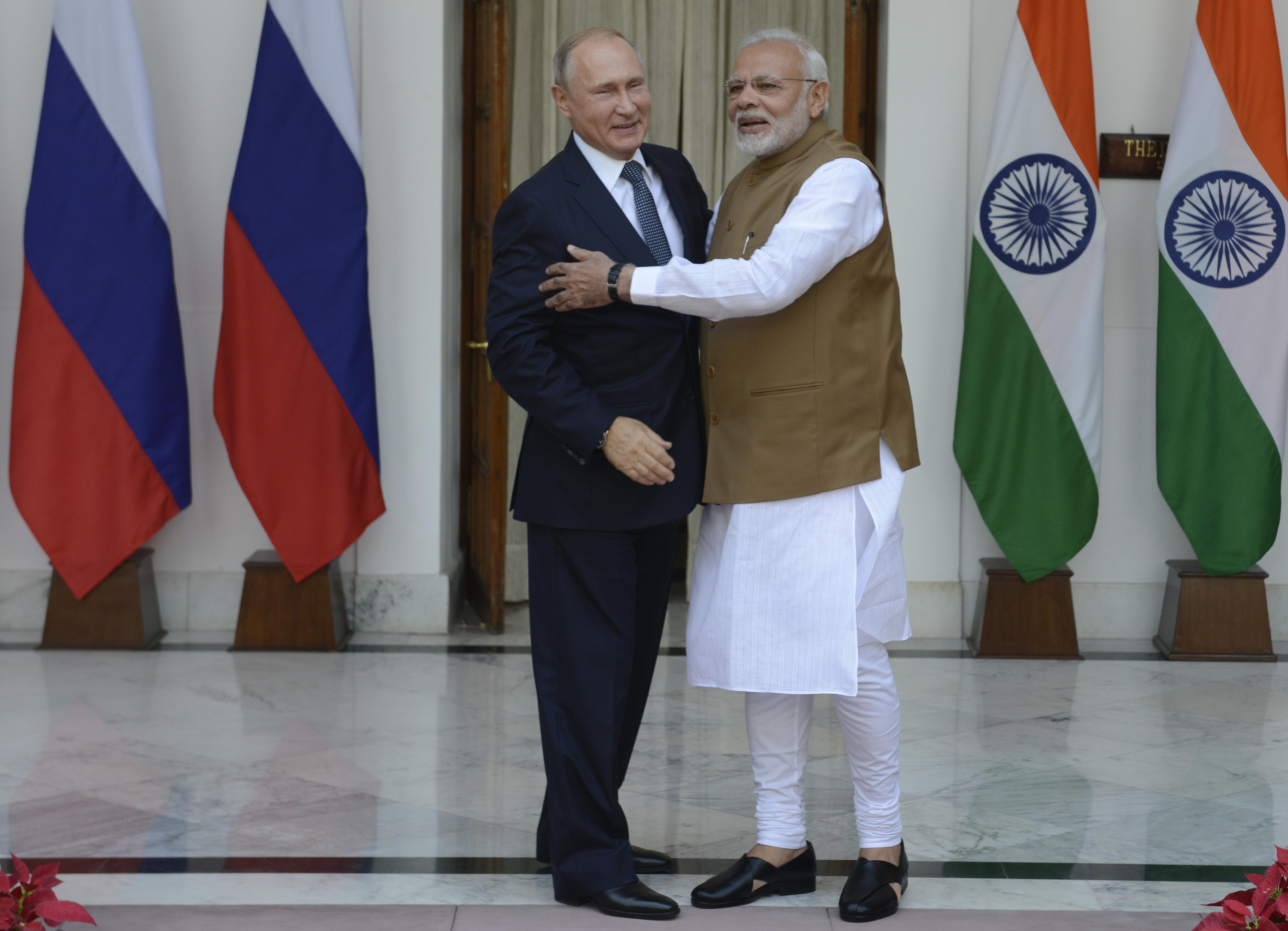 Russia Awards Modi Its Highest State