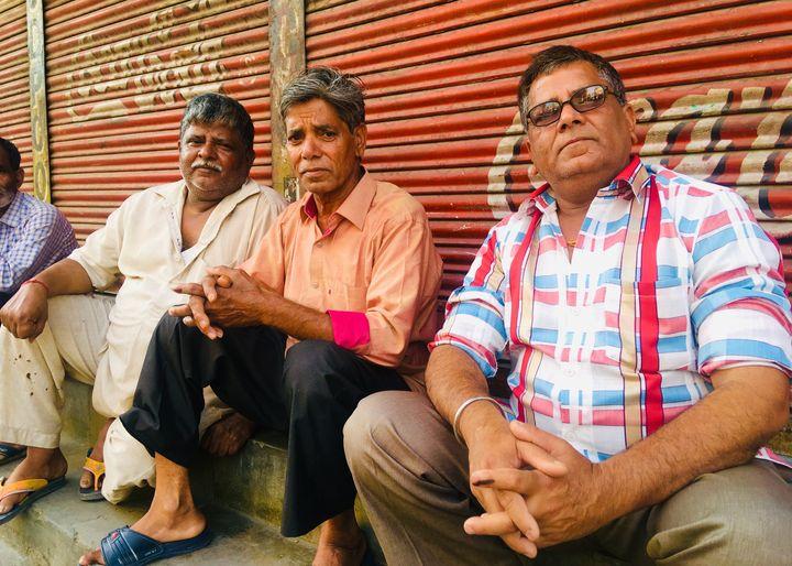 Voters in Meerut.