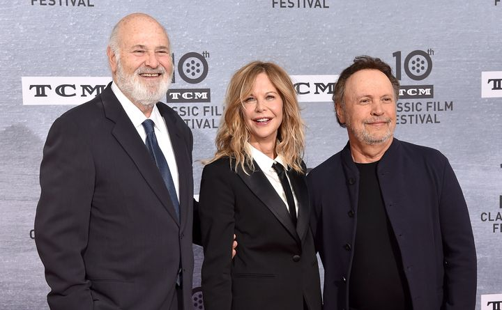 Director Rob Reiner and stars Meg Ryan and Billy Crystal look sequel-ready (no, that's not happening) at the 30th anniversary