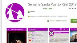 ¿Qué ves en la foto? Bromas con el logo de esta 'app' sobre la Semana Santa de Puerto Real