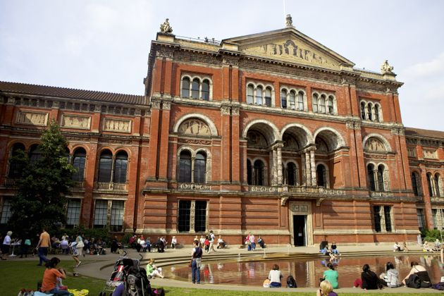 The V&A gallery in