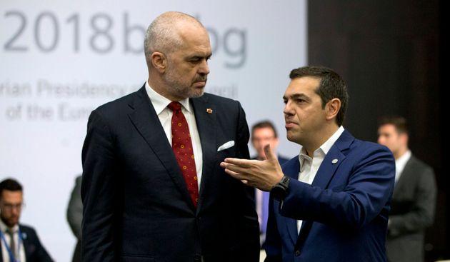Τσίπρας προς Ράμα: Τα δικαιώματα της ελληνικής μειονότητας κριτήριο ένταξης της Αλβανίας στην