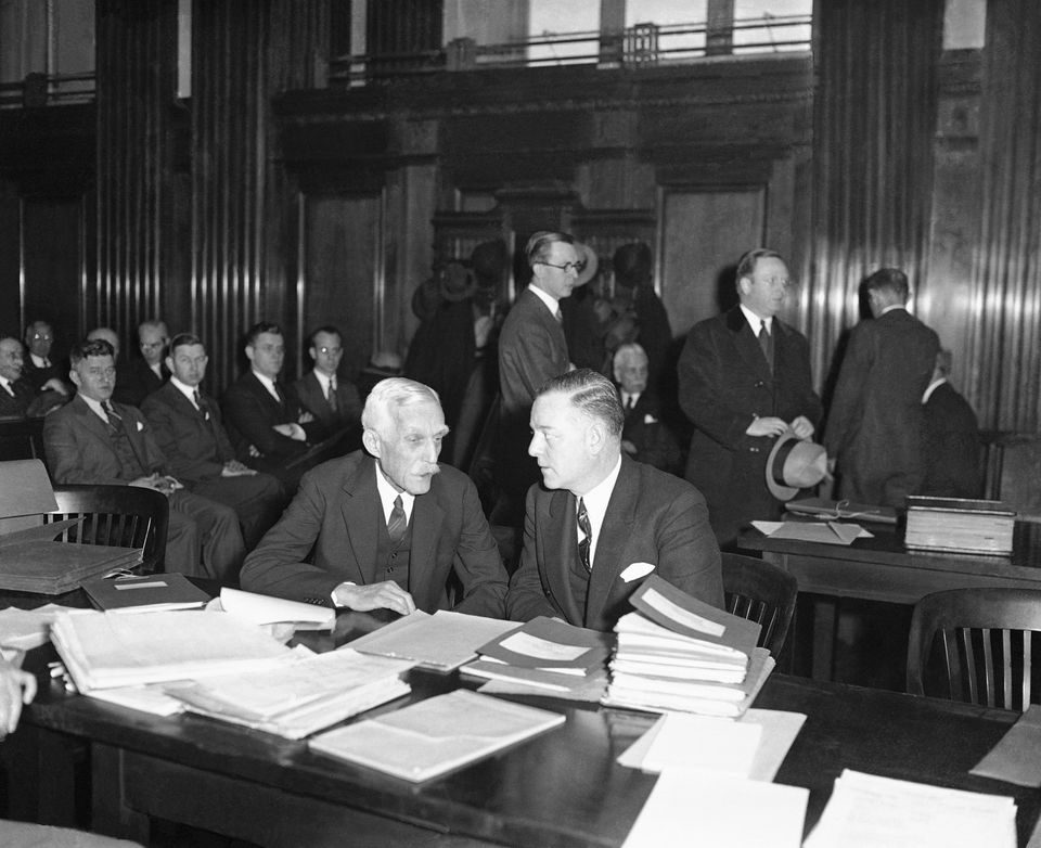 The tax policies of Treasury Secretary Andrew Mellon (left) were a major factor leading Congress to give...