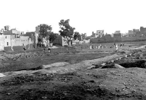Jallianwala Bagh in 1919, a few months after the
