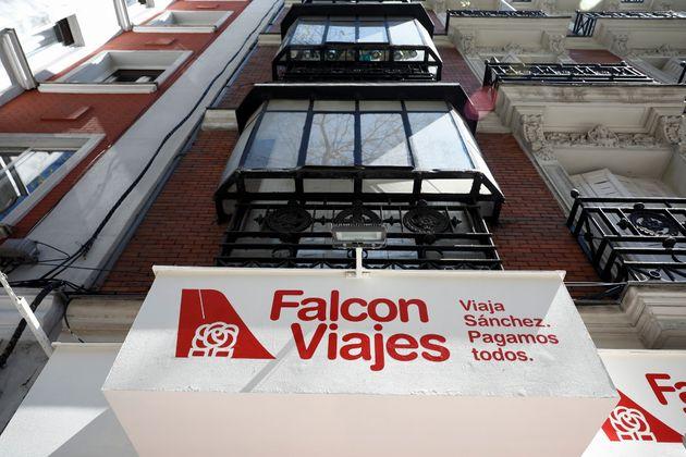 El PSOE lleva a la Fiscalía la campaña de 'Falcon Viajes' del