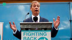 Nigel Farage lanza su nuevo