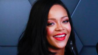 NEW YORK, NY - SEPTEMBER 14: Rihanna celebrates the one-year anniversary of her beauty brand, Fenty Beauty by Rihanna on September 14, 2018 in Brooklyn, New York. Credit: Diego Corredor/MediaPunch /IPX