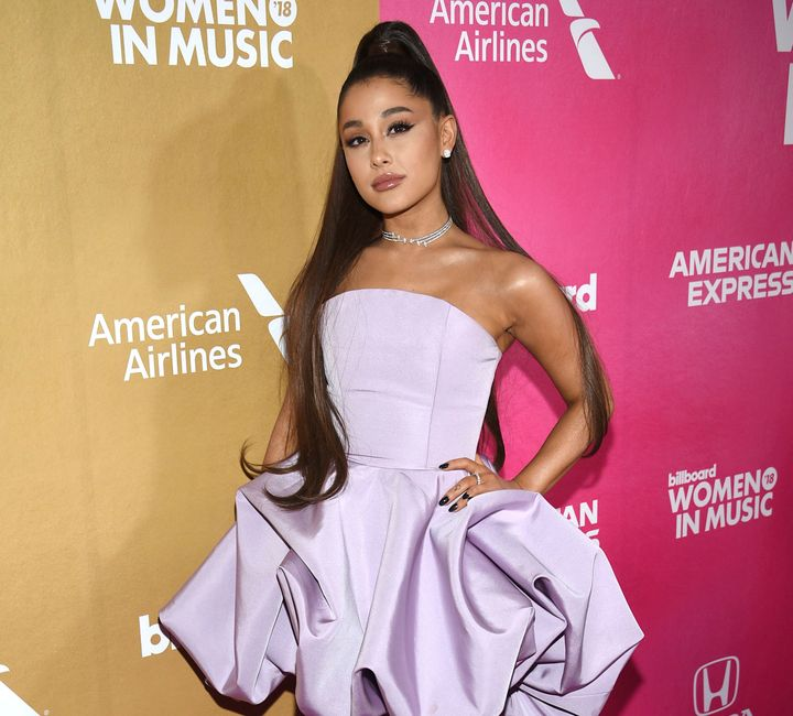 Grande attends the 13th annual Billboard Women in Music event on Dec. 6, 2018, in New York.