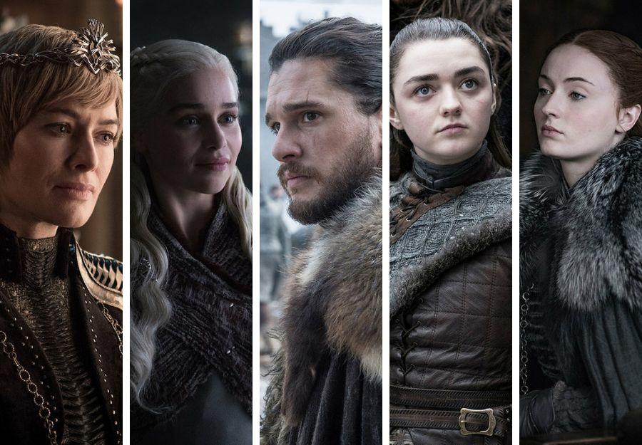 Cómo llegan los protagonistas de 'Juego de Tronos' (HBO) a la última