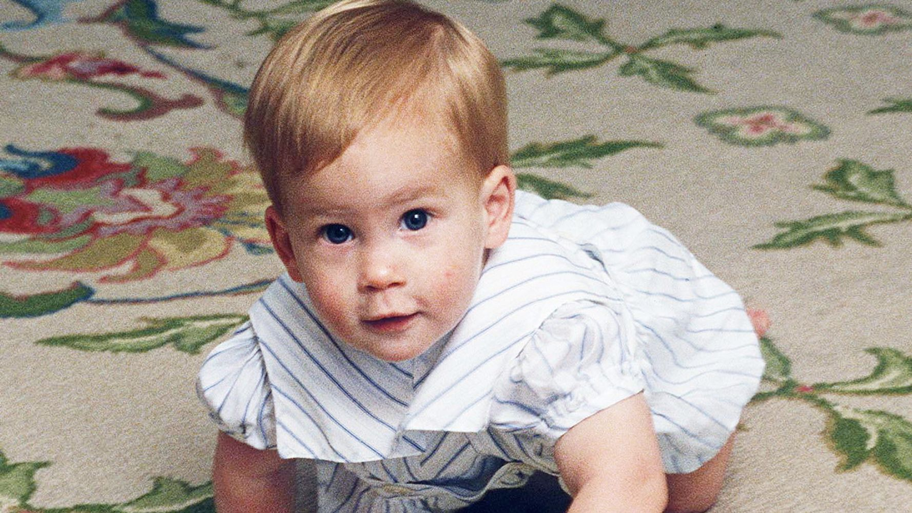 27 adorable baby photos of prince harry huffpost life 27 adorable baby photos of prince harry