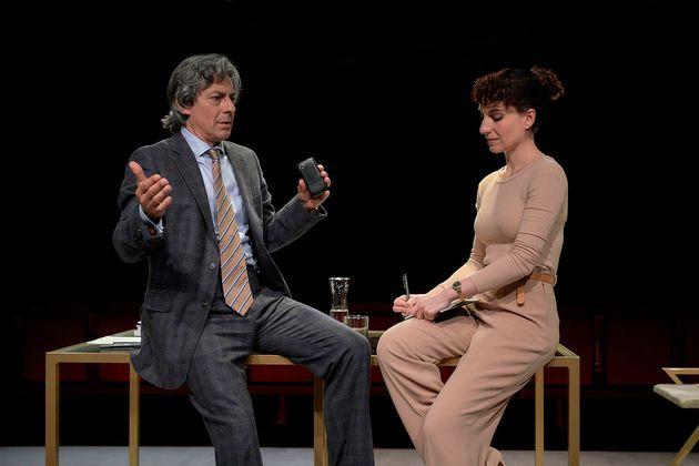 Jesús Noguero y Eva Rufo en 'Espejo de víctima' de Ignacio del