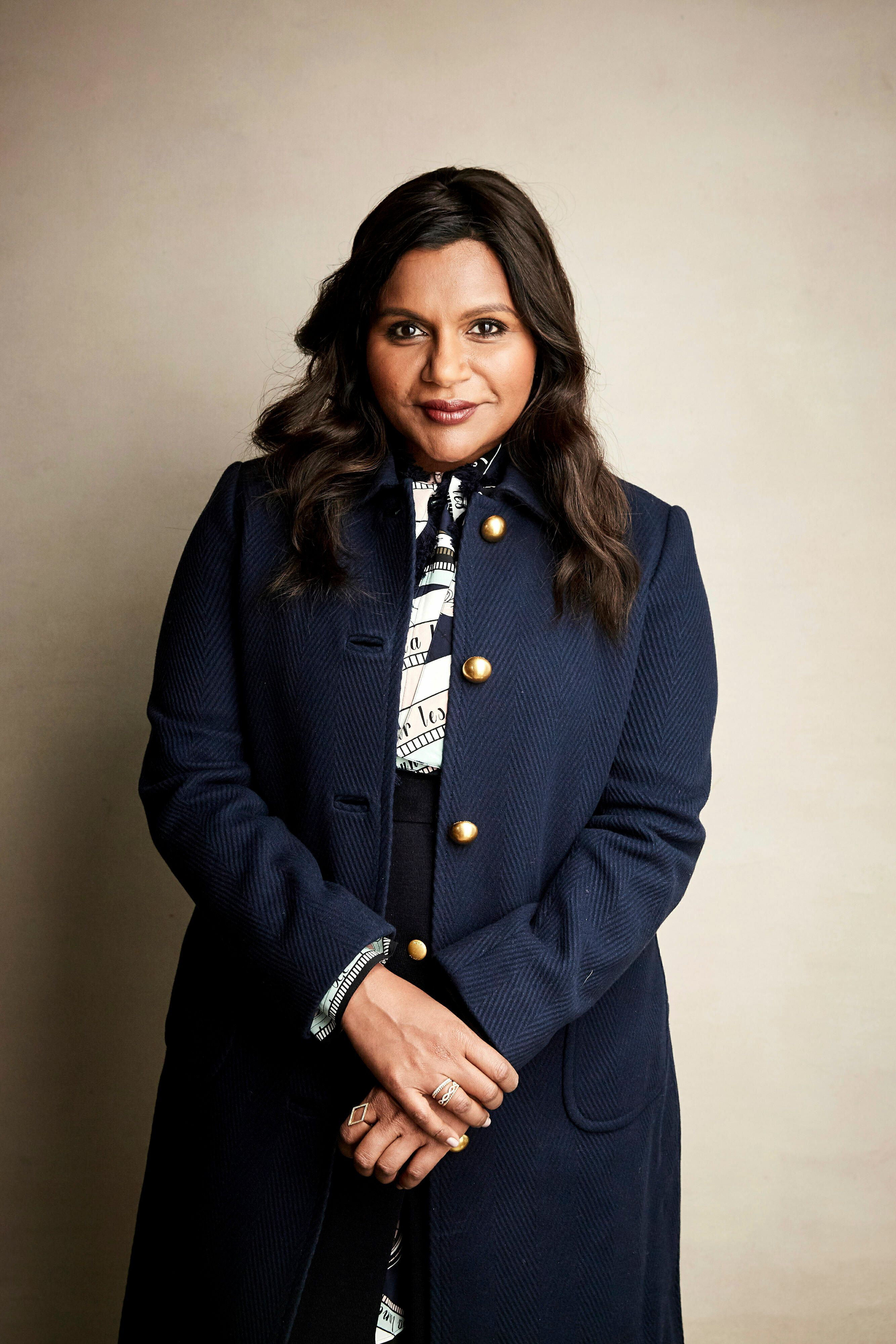 "Writer and actress Mindy Kaling poses for a portrait to promote the film ""Late Night"" at the Salesforce Music Lodge during the Sundance Film Festival on Friday, Jan. 25, 2019, in Park City, Utah. (Photo by Taylor Jewell/Invision/AP)"