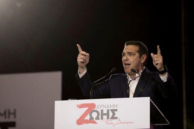 Αλέξης Τσίπρας: Η Ρένα Δούρου θα είναι ξανά Περιφερειάρχης