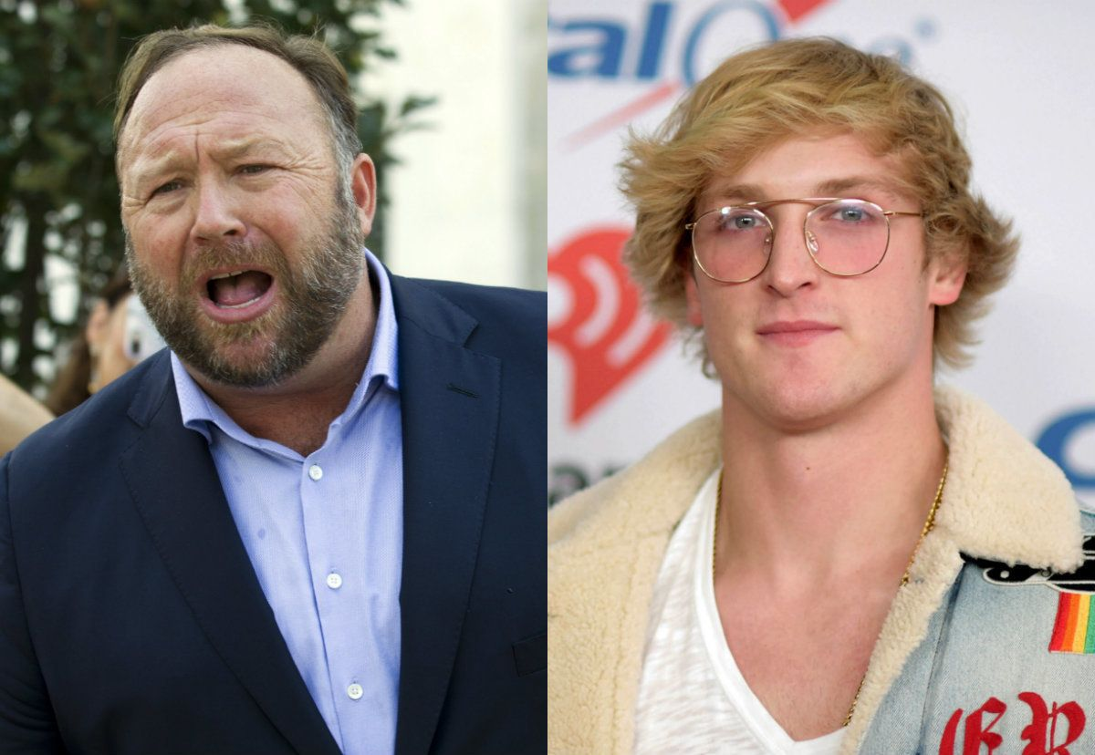 alex jones logan paul
