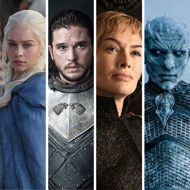 Daenerys, Jon Snow, Cersei e o Rei da Noite. Os pretendentes ao Trono de Ferro podem ser muitos, mas...