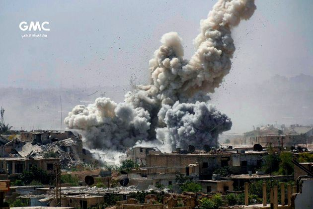 Ισραηλινή αεροπορική επίθεση στη