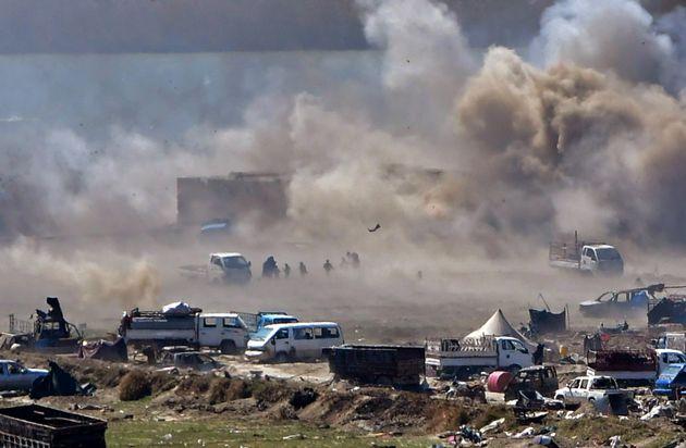 L'armée israélienne mène des raids aériens au centre de la