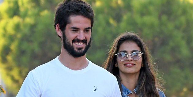 Isco Alarcón y Sara