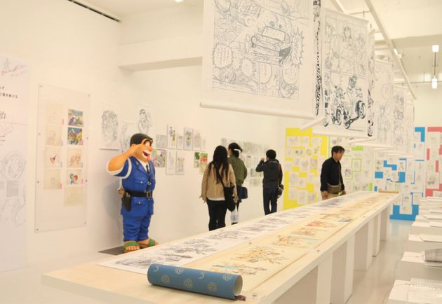 4月16日まで開催中の「ラフ∞絵」展