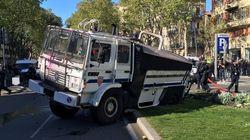 À Toulouse, les mésaventures du canon à eau déployé face aux gilets
