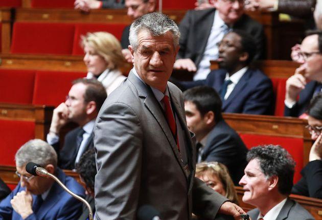 Jean Lassalle à l'Assemblée nationale le 5 mars