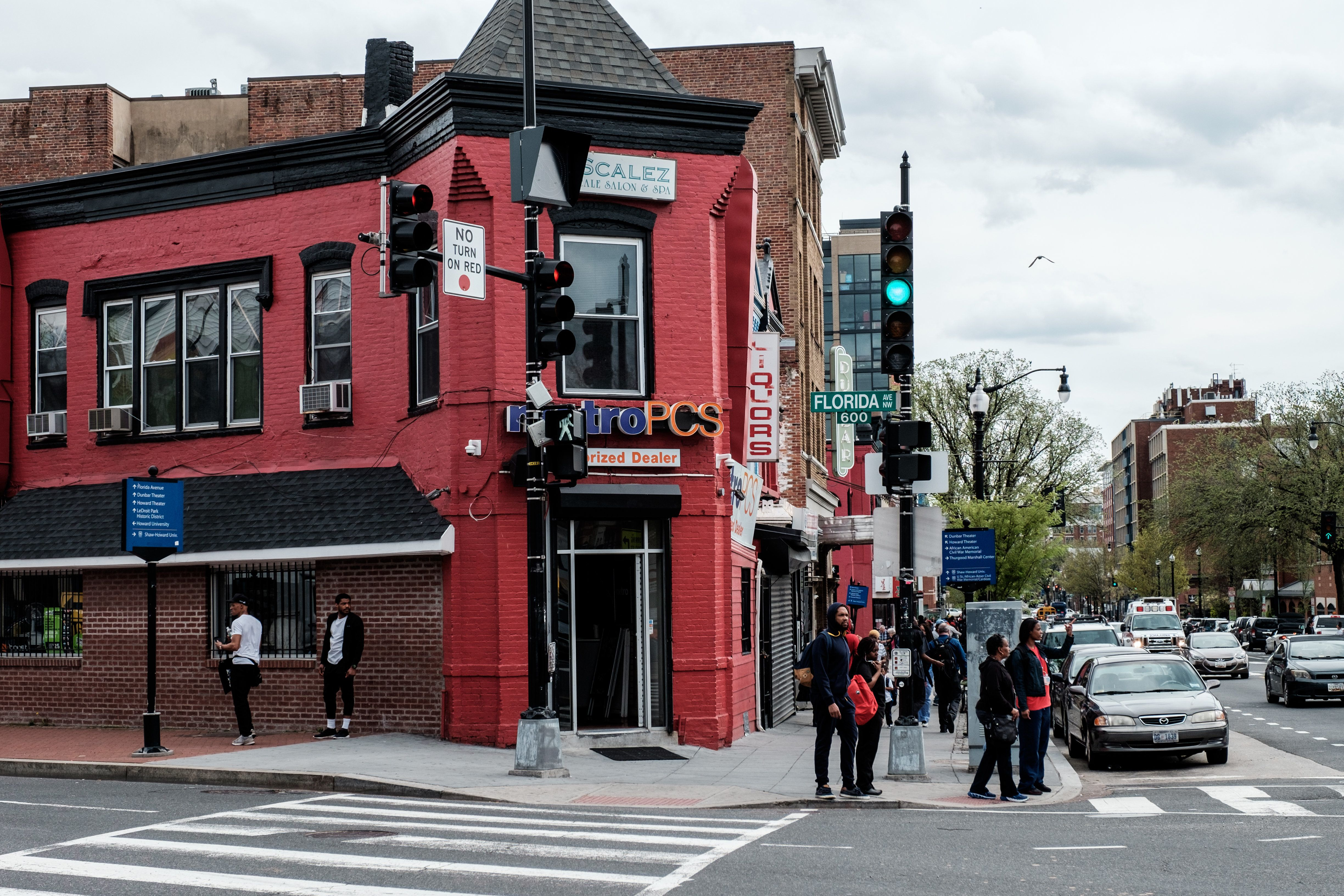 WASHINGTON, DC - APRIL 8: The Metro PCS store in Shaw has been known for playing its Go-Go music since 1995, until it was forced to turn off its music due to noise complaints from residents in the new luxurious apartments 'The Shay' one month ago on April 8, 2019 in Washington, DC. (Photo by Michael A. McCoy for The Washington Post via Getty Images)