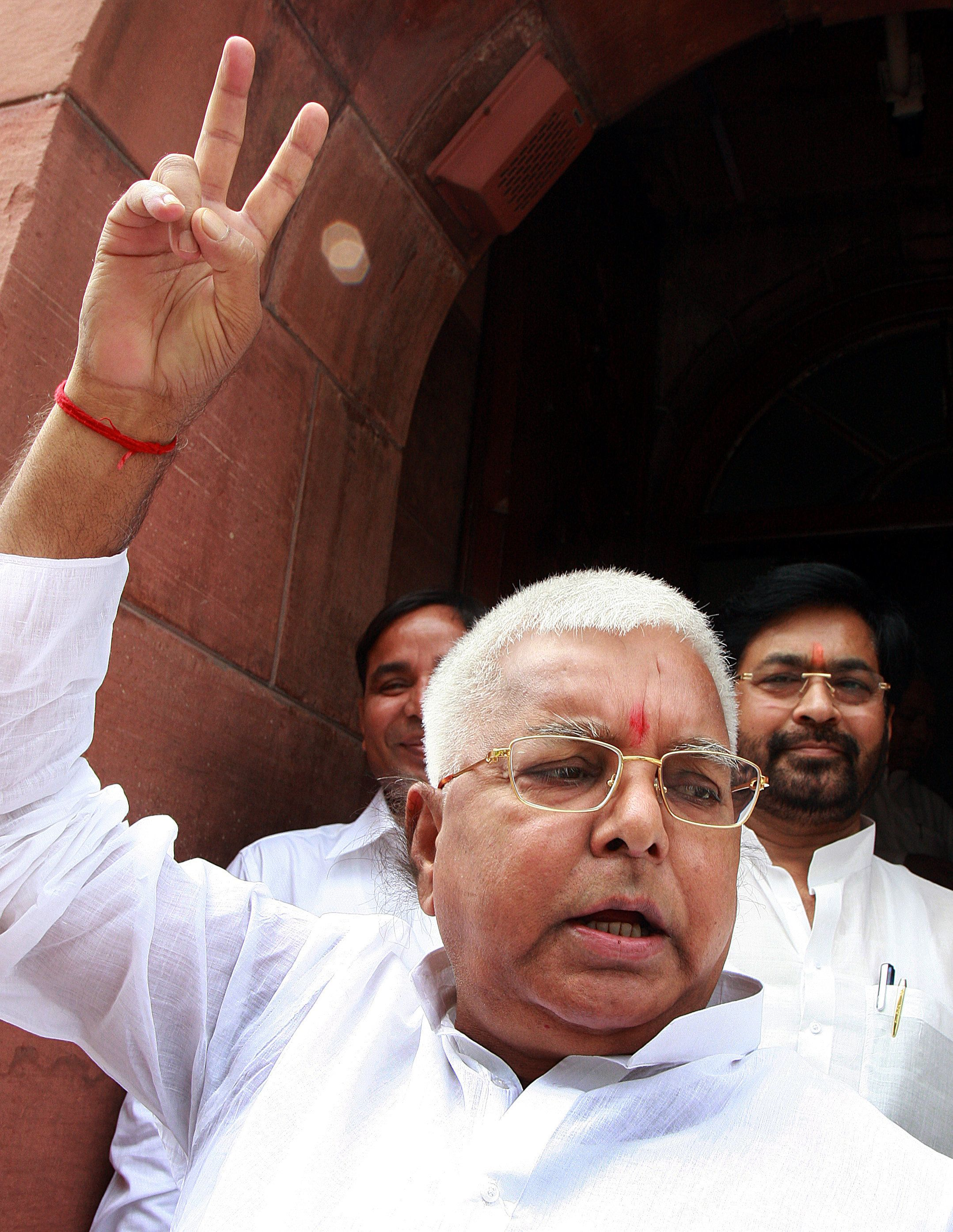 WATCH: Lalu Prasad Yadav Mocks Modi In A Dubsmash