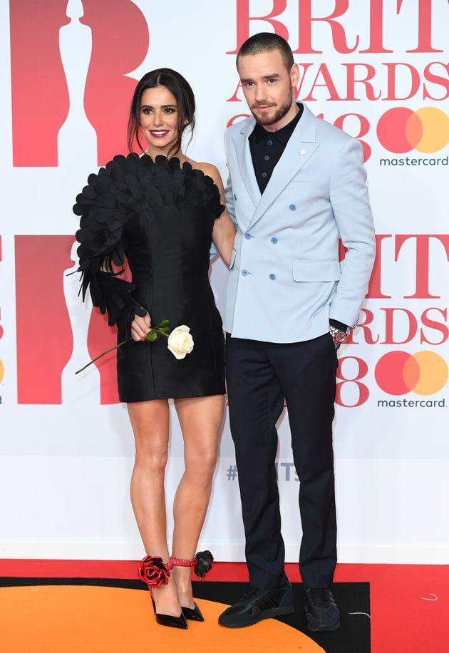 Cheryl with ex Liam