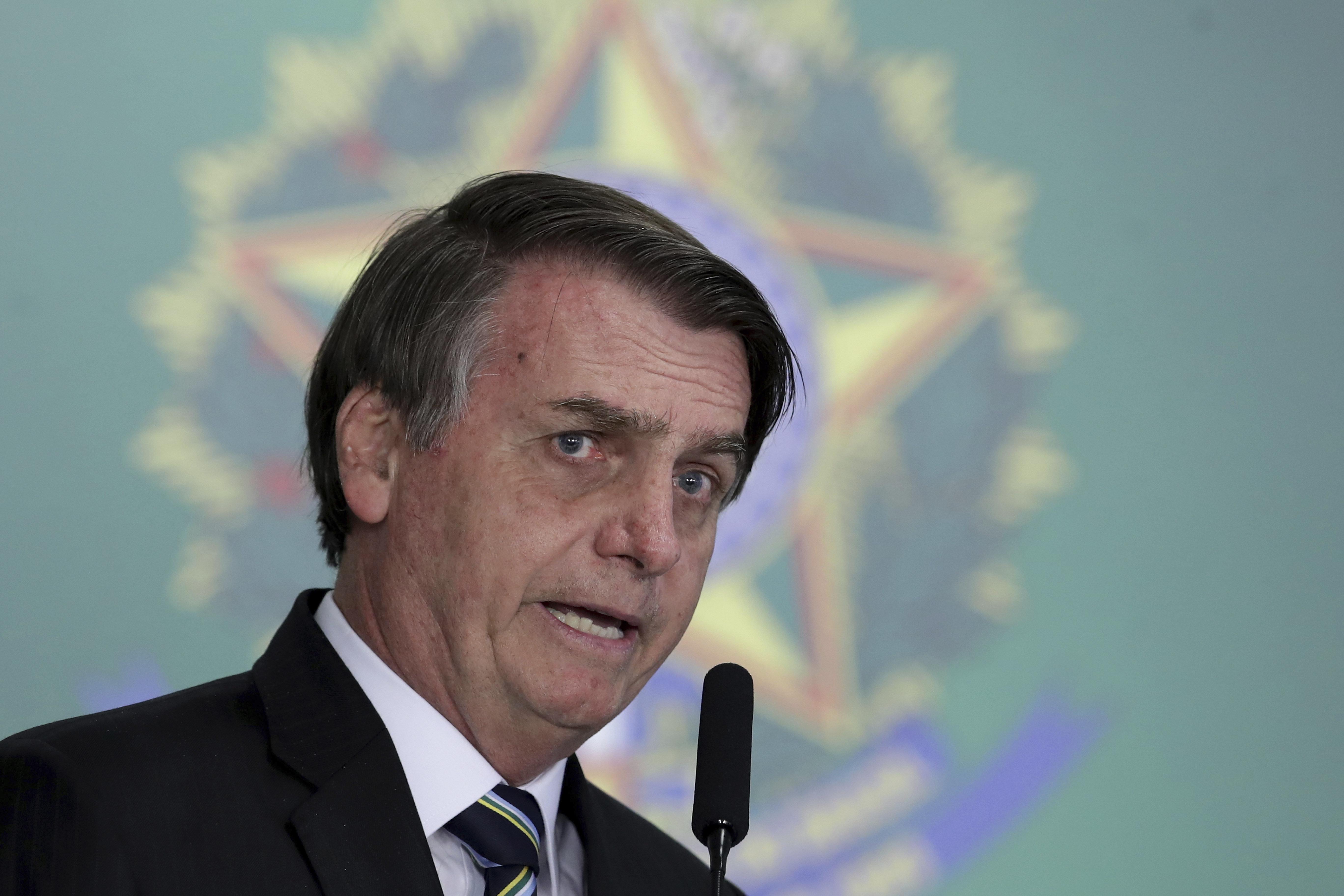 Rebuked By Israel, Brazil's Bolsonaro Clarifies Suggestion Holocaust Was Forgivable