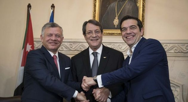 Στην Ιορδανία Τσίπρας για την τριμερή Ελλάδας - Κύπρου -
