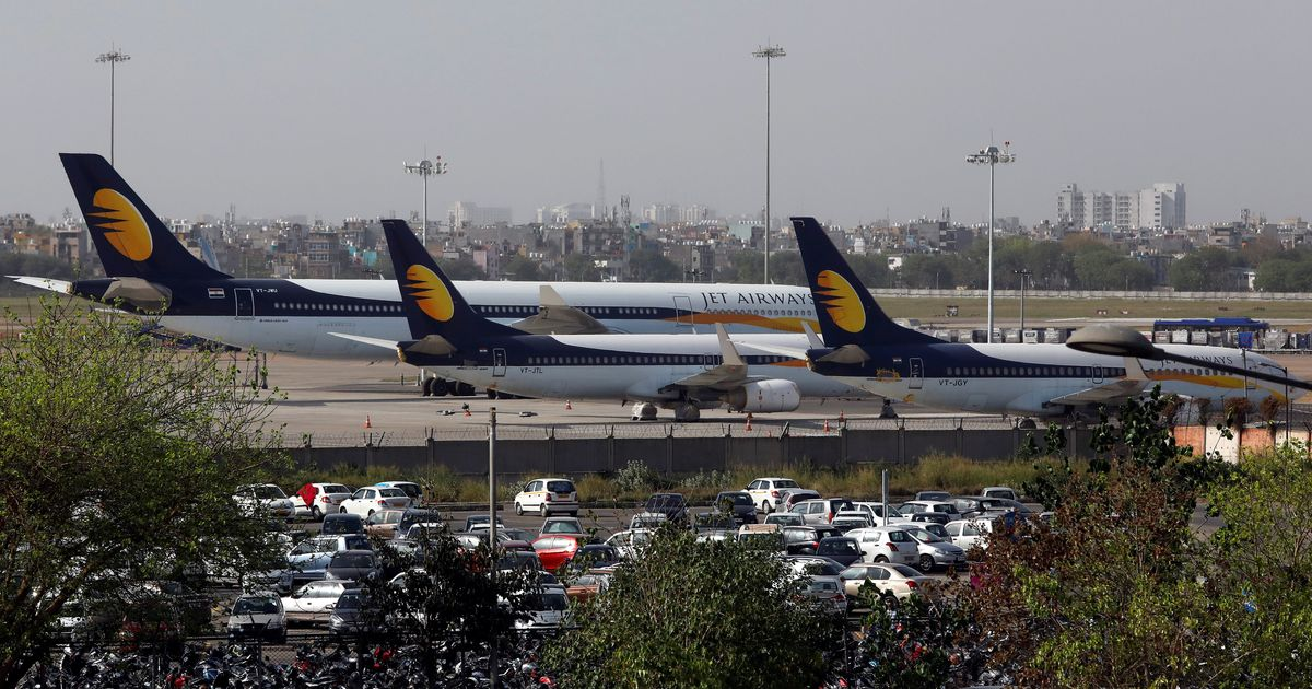Over 1,000 Jet Airways Pilots To Not Fly From Tomorrow Due To Unpaid Salaries