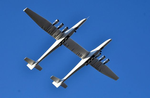 Le plus grand avion du monde, construit par la société de feu Paul Allen, Stratolaunch...