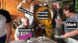 Los mejores memes de la caída de WhatspApp, Facebook e