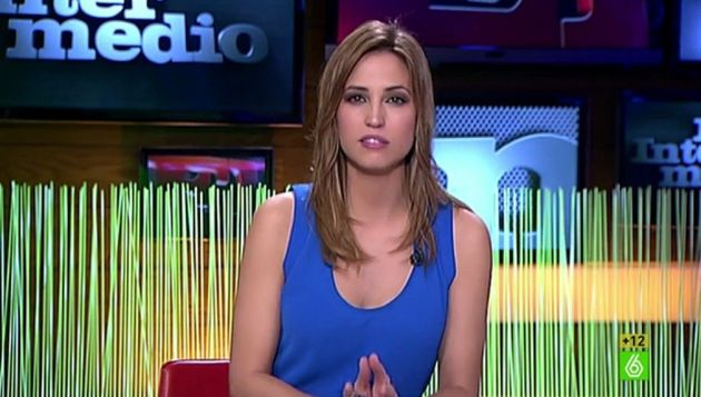 Sandra Sabatés, presentadora de 'El