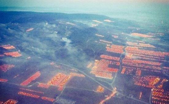 Pourquoi ces paysages de Bourgogne étaient ainsi illuminés en pleine
