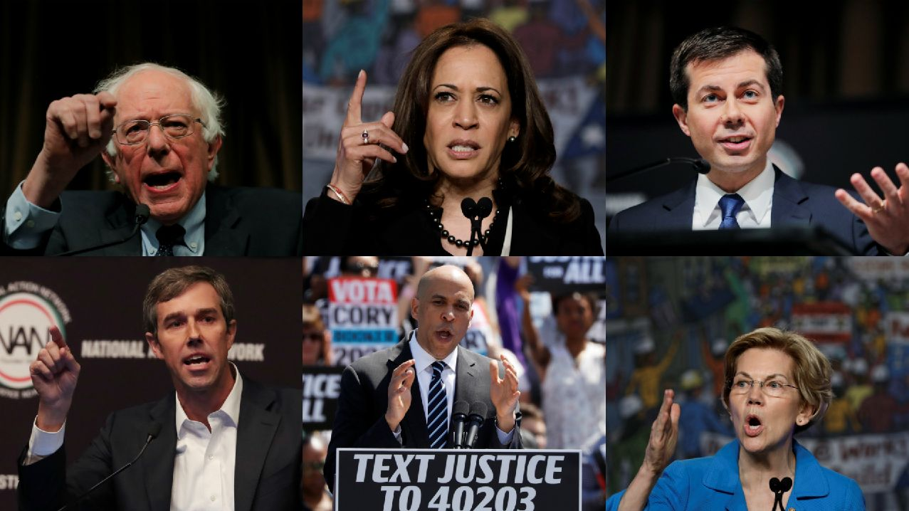 Qui sont les candidats démocrates pour affronter Trump en