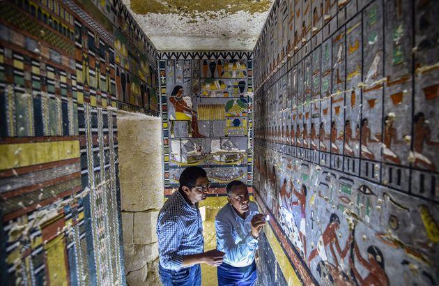 Egypte: découverte d'une tombe de la Ve dynastie à