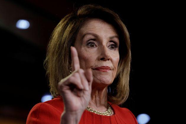 Speaker of the House of Representatives Nancy