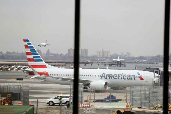 American Airlines said it will cancel flights of Boeing 737 MAX 8 planes until mid-August.